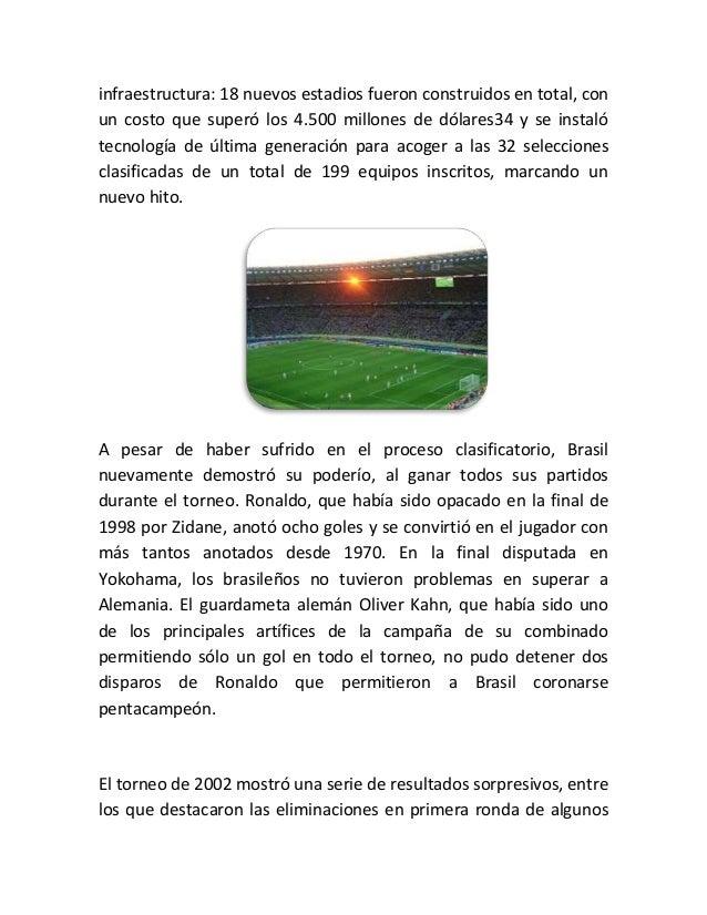 Copa mundial de fútbol Slide 3