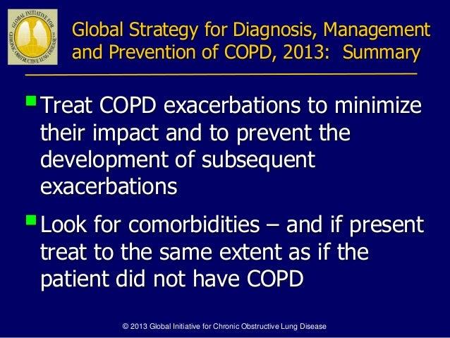 2018 Guidelines For Copd Management Uptodate Medical Reference