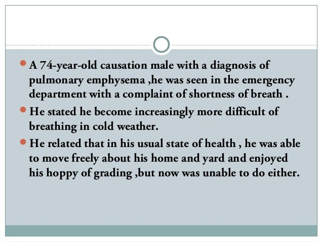 COPD Case Study - YouTube