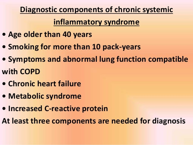Copd systemic inflammation or systemic manifestations 26 weight loss 1 systemic inflammation publicscrutiny Choice Image
