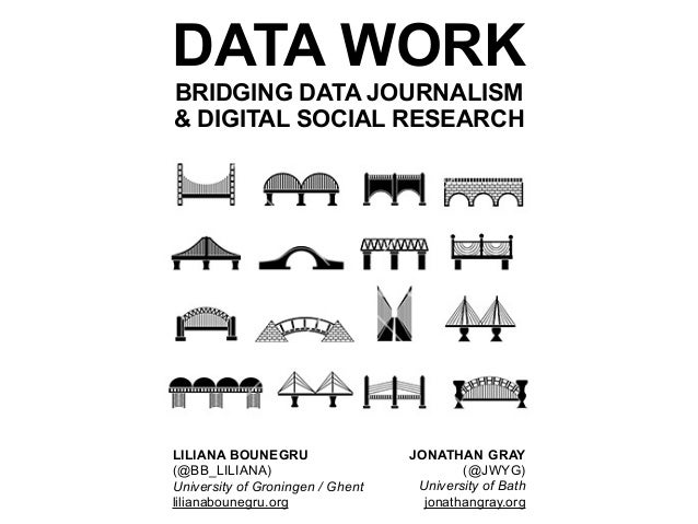 DATA WORK BRIDGING DATA JOURNALISM