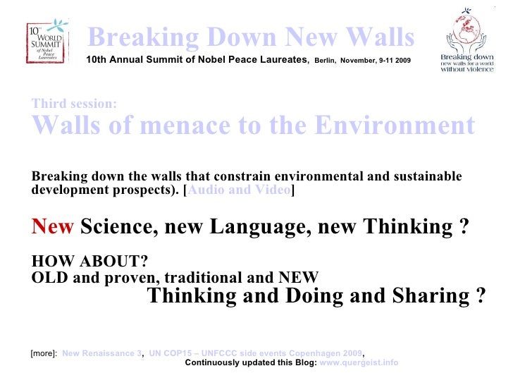 <ul><li>[more]:  New Renaissance 3 ,  UN COP15 – UNFCCC side events Copenhagen 2009 ,    Continuously updated this Blog:  ...