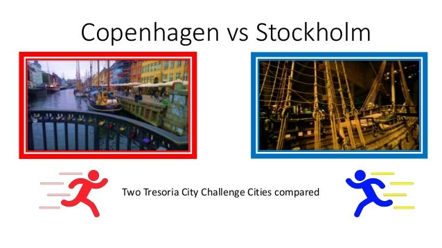 Copenhagen vs Stockholm Two Tresoria City Challenge Cities compared