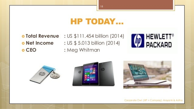 the merger of hp and compaq strategy and valuation Hp company swot analysis essay  5 business level strategy: 6 review of pc division of hp:  merger hp compaq synergy 1 1introduction of the case 1 11.