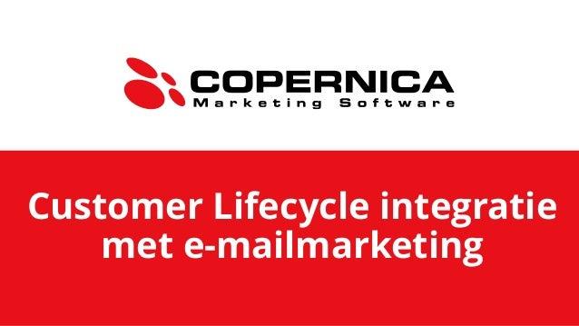 Customer Lifecycle integratie met e-mailmarketing