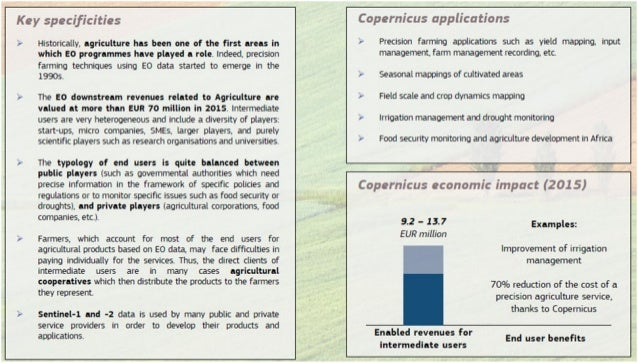 Copernicus and Agricultural Sector
