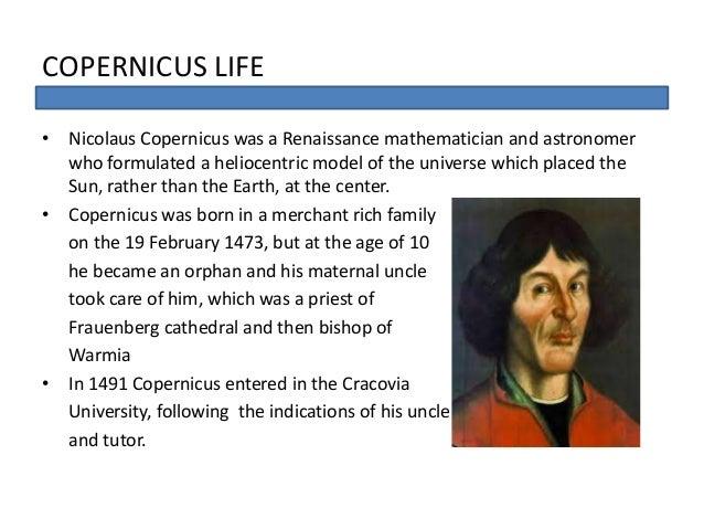 The Astronomer, Nicolaus Copernicus