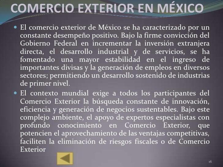 Instituciones y organizaciones del comercio exterior for De comercio exterior