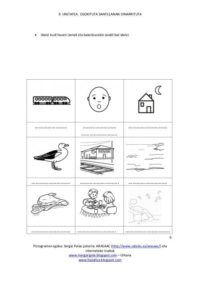 9. UNITATEA. EGOKITUTA SANTILLANAN OINARRITUTA Pictogramen egilea: Sergio Palao jatorria: ARASAAC (http://www.catedu.es/ar...