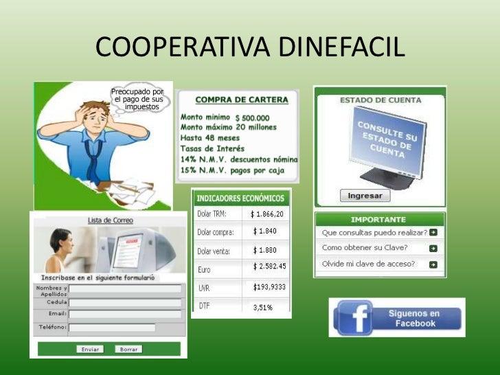COOPERATIVA DINEFACIL<br />