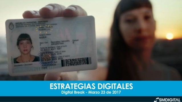 DIGITAL BREAK // MARZO 23 DE 2017