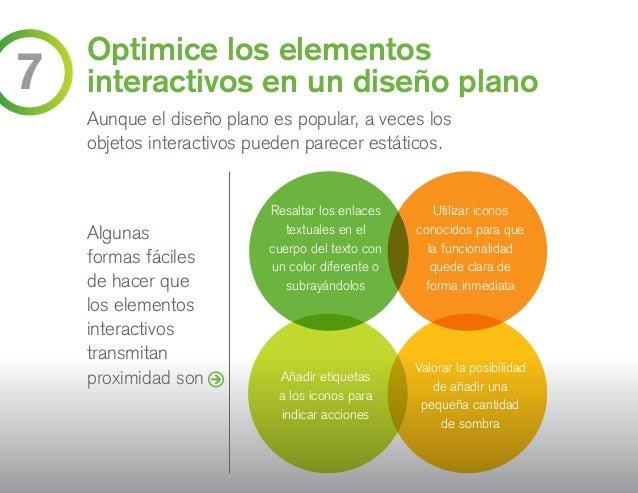 Optimice los elementos interactivos en un diseño plano Aunque el diseño plano es popular, a veces los objetos interactivos...