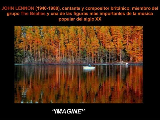 JOHN LENNON (1940-1980), cantante y compositor británico, miembro del  grupo The Beatles y una de las figuras más importan...