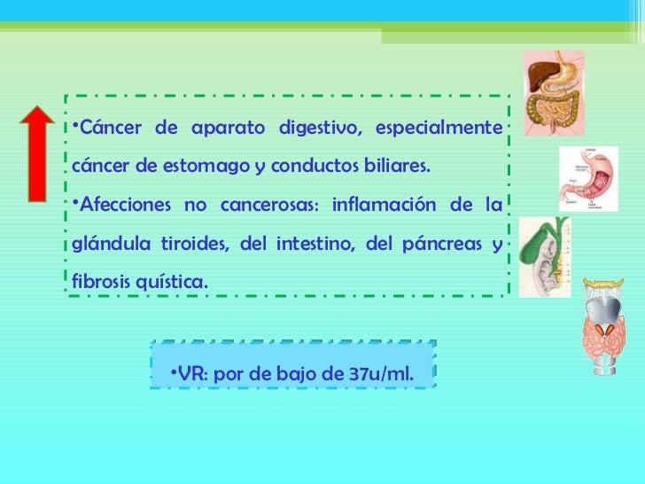 Marcadores tumorales valores normales