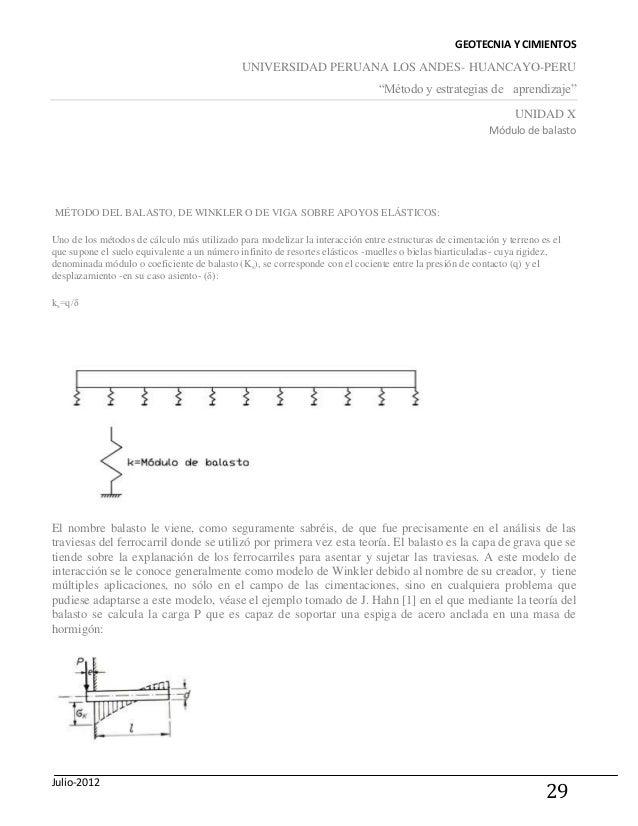 Monografia De Geotecnia Y Cimientos