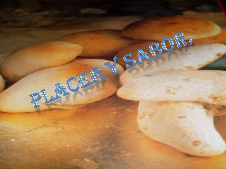 PLACER Y SABOR,<br />
