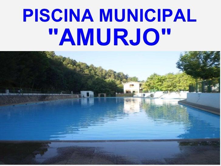 Fotos orcera for Piscina municipal de orcera
