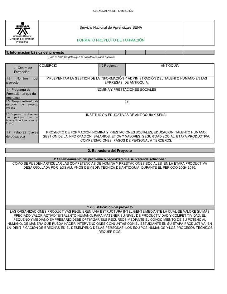 SENACADENA DE FORMACIÓN                                                               Servicio Nacional de Aprendizaje SEN...