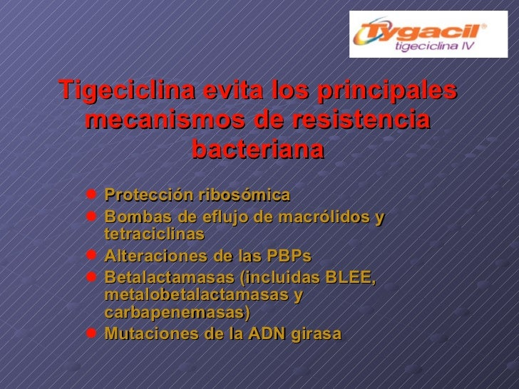 Tigeciclina Slide 3