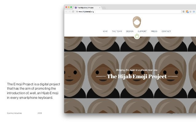 PageGummy Industries 272018 The Emoji Project is a digital project that has the aim of promoting the introduction of, well...