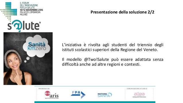 L'iniziativa è rivolta agli studenti del triennio degli istituti scolastici superiori della Regione del Veneto. Il modello...