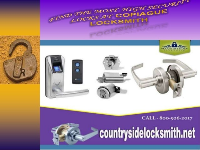 For over 30 years, the professional team at Copiague Locksmith & Supply has provided quality locksmith and security system...