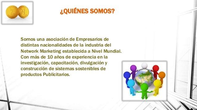 Apresentacion PLAN BINARIO OFICIAL de Negocios Zona Network 1.2 Slide 2