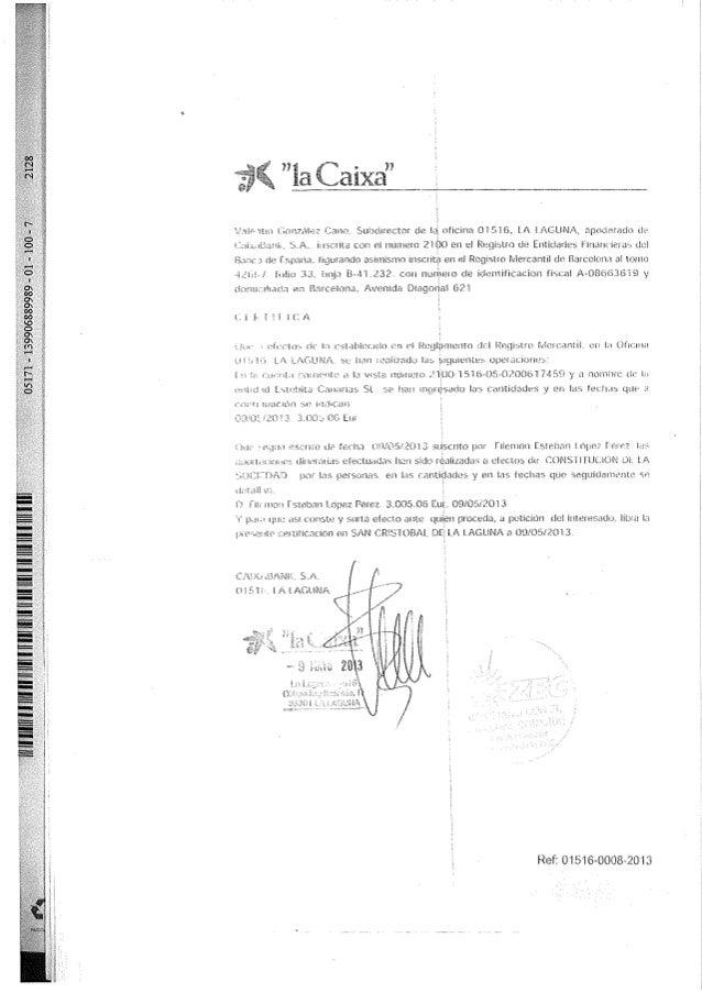 Canaryexcopia registro entrada zec proyecto estebita canarias for La caixa buscador de oficinas