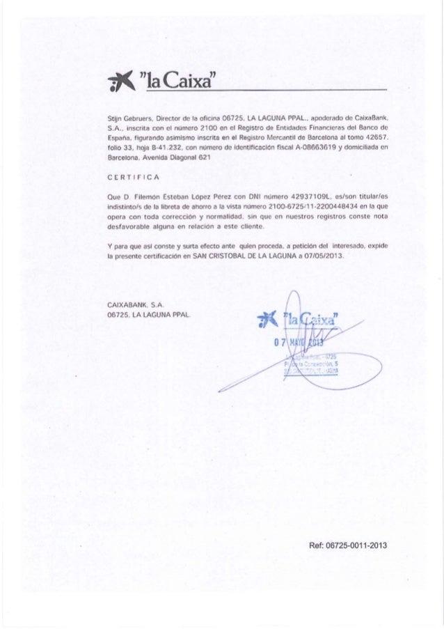 Canaryexcopia registro entrada zec proyecto estebita canarias - Numero oficina la caixa ...