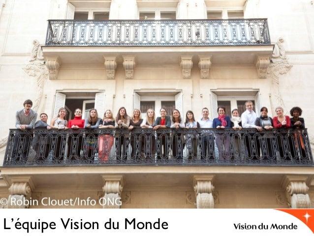 L'équipe Vision du Monde