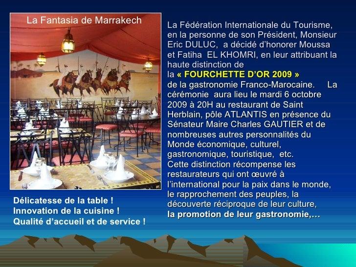Copie De Fourchette D'Or» Slide 2