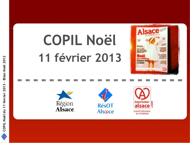 COPIL Noël du 11 février 2013 – Bilan Noël 2012                                                           COPIL Noël      ...