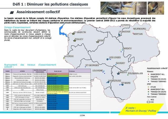 17/94 Le bassin versant de la Sélune compte 44 stations d'épuration. Ces stations d'épuration permettent d'épurer les eaux...