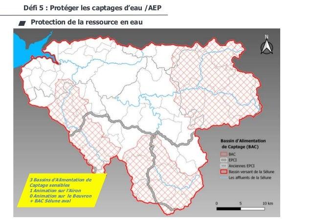 46/94 Défi 5 : Protéger les captages d'eau /AEP Protection de la ressource en eau 3 Bassins d'Alimentation de Captage sens...