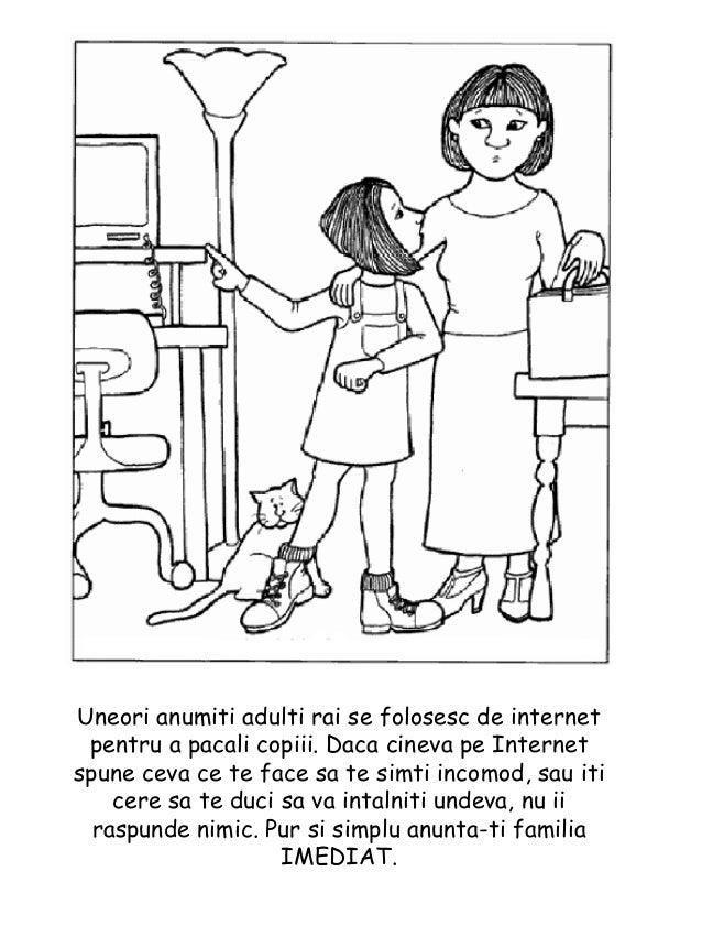 Copilul Tau In Siguranta Carte De Colorat