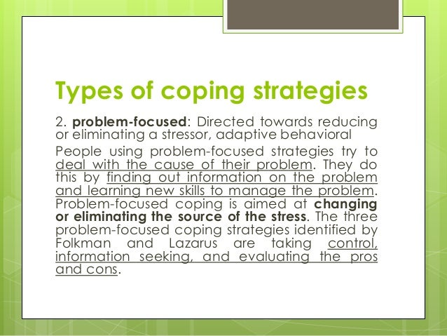 Coping strategies ppt