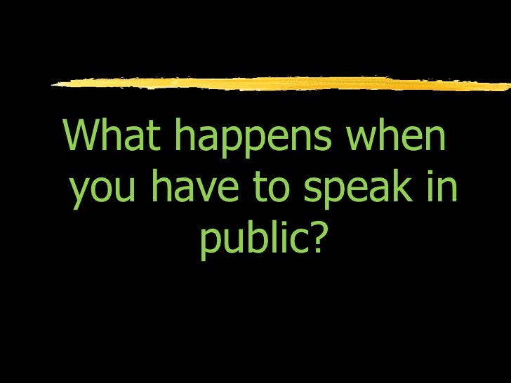 speech anxiety Westwick, joshua, overcoming public speaking anxiety: practical applications  for classroom instruction (2014) communication studies and theatre faculty.
