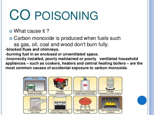 Co poisoning Slide 3