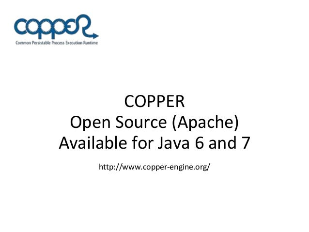 Copper: A high performance workflow engine