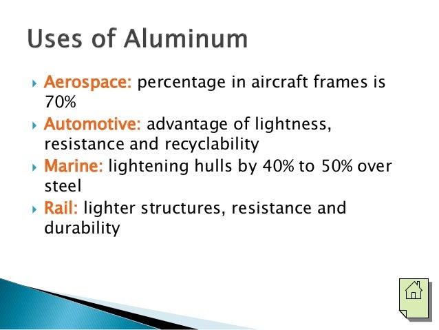 useful properties of aluminium