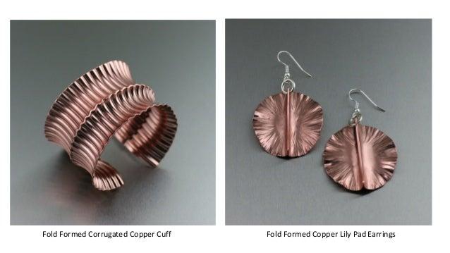 Copper Fold Formed Jewelry Portfolio by I Love Copper Jewelry