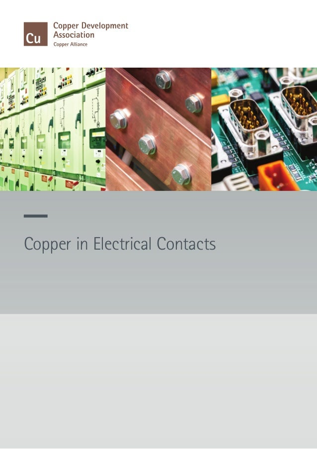 Copper in Electrical Contacts