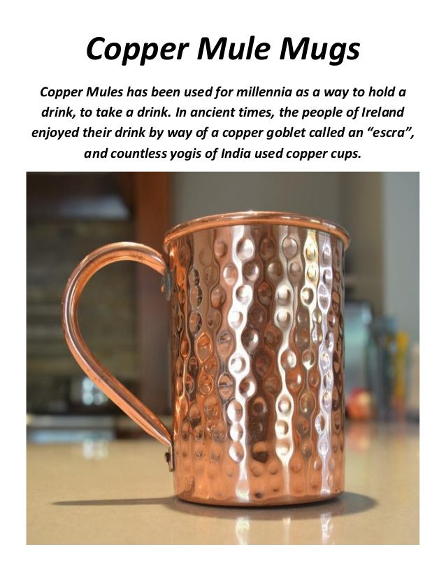 copper mule mugs - Copper Mule Mugs