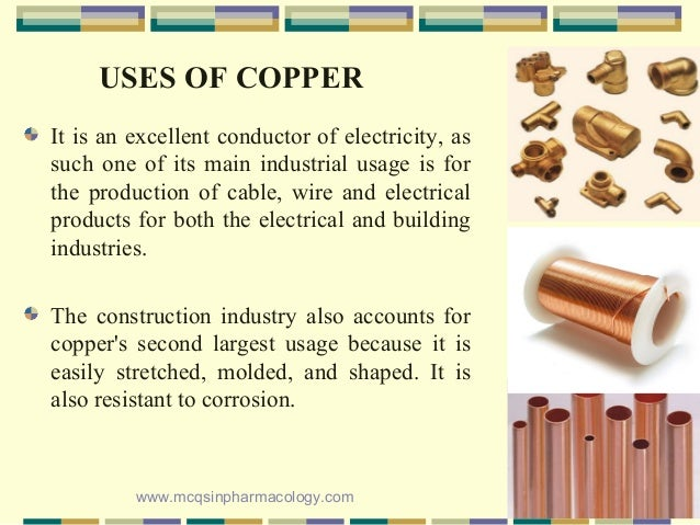 Copper poisoning/Toxicity