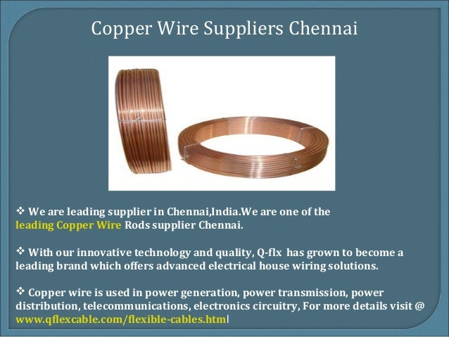 Best Copper Wire Suppliers Chennai