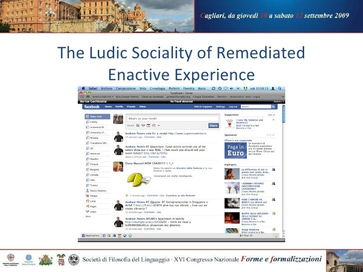 The Ludic Sociality of Remediated Enactive Experience