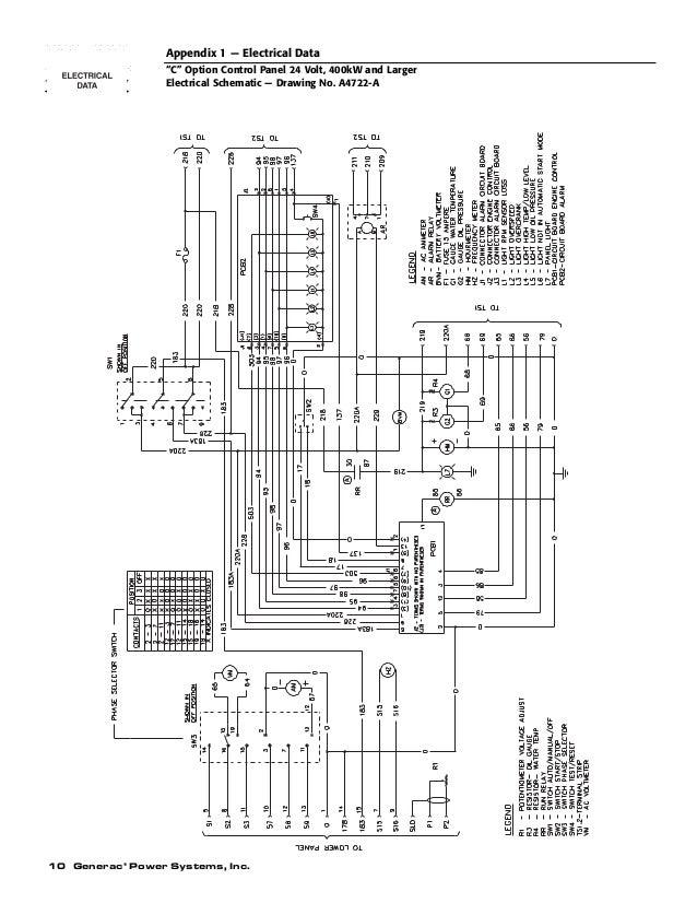 Generac H Panel Wiring Diagram | Wiring Diagram