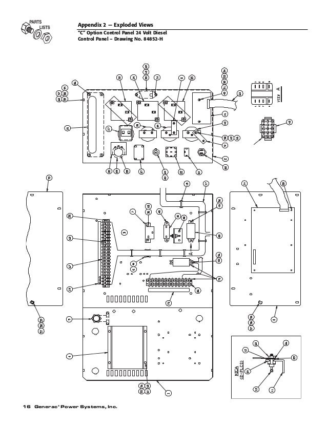 20kw generac generator wiring diagram