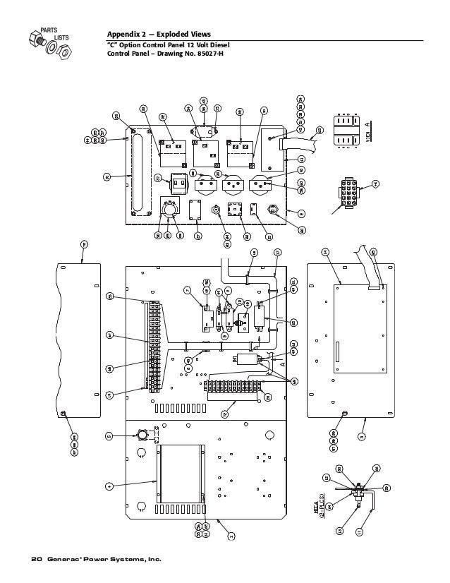 3 phase generac generator wiring diagram generac 11kw generator wiring schematic | online wiring ... generac control wiring