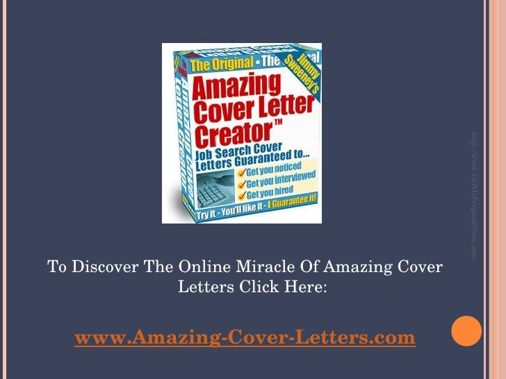 http://www.GetMePregnantNow.com To Discover The Online Miracle Of Amazing Cover Letters Click Here: www.Amazing-Cover-Lett...